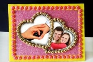 Heart Shaped DIY Photo Frame