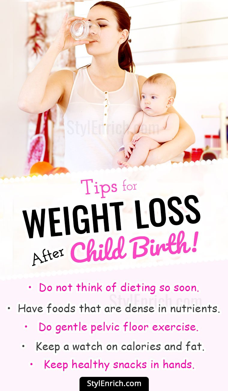 Tips For Weight Loss After Pregnancy!