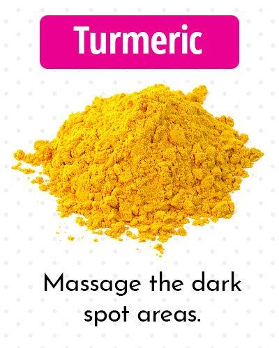 Turmeric for Dark Spots