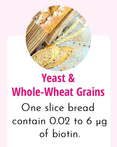 Yeast - Biotin Rich Food