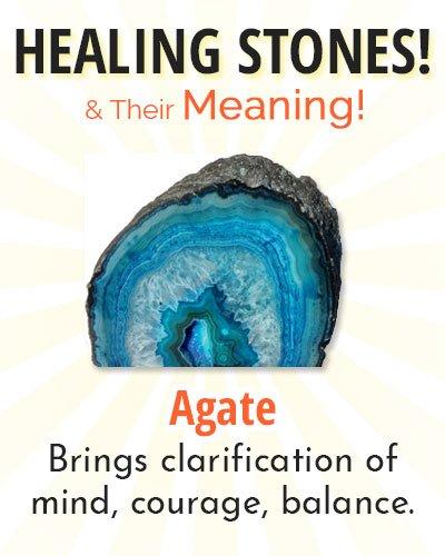 Agate Healing Stone