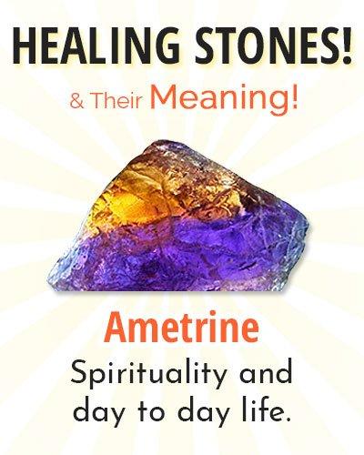 Ametrine Healing Stone