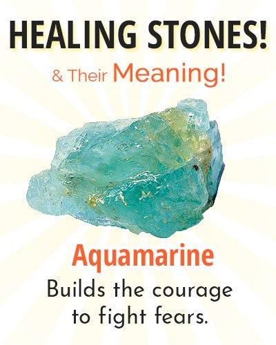 Aquamarine Healing Stone