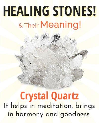 Crystal Quartz Healing Stone
