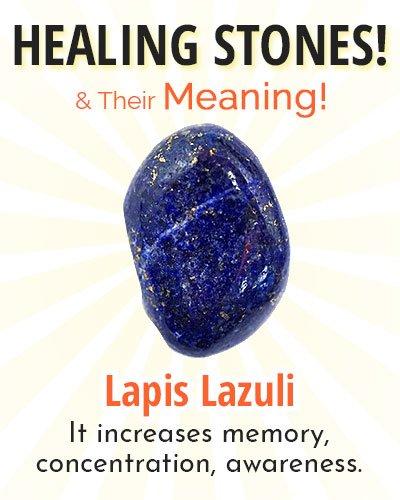 Lapis Lazuli Healing Stone