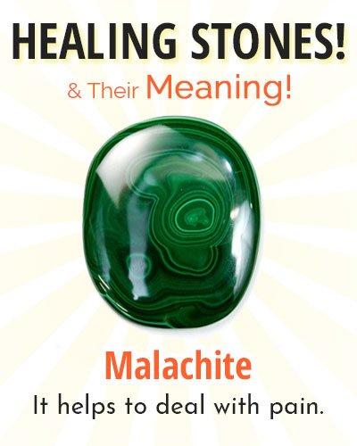 Malachite Healing Stone