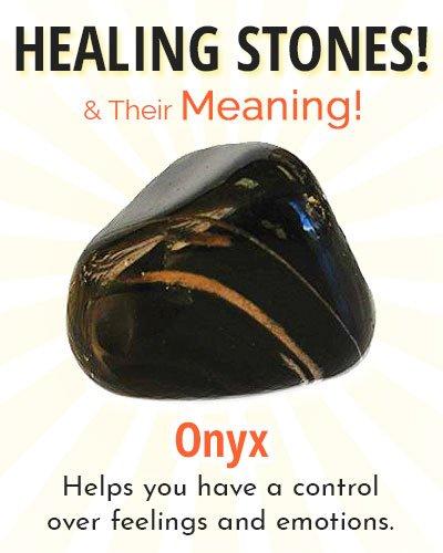 Onyx Healing Stone