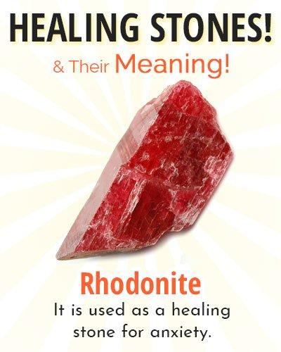 Rhodonite Healing Stone