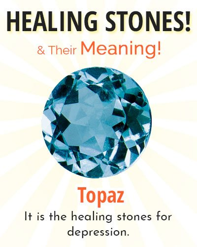 Topaz Healing Stone