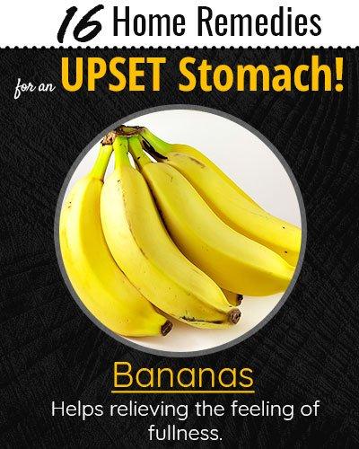 Banana For Upset Stomach