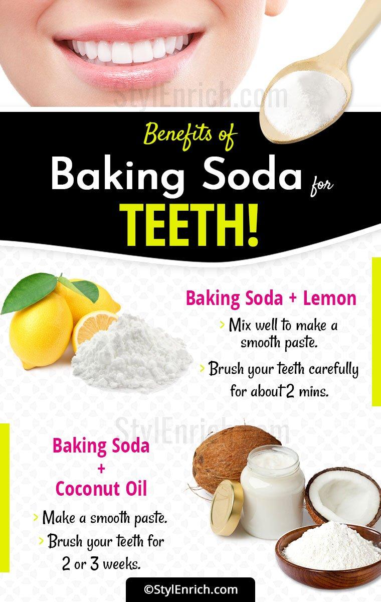 Baking Soda For Teeth Whiten Your Teeth With Baking Soda