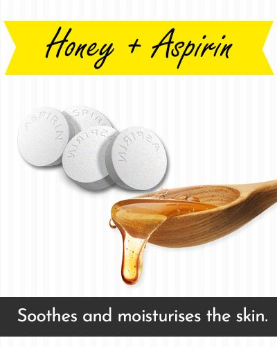 Honey & Aspirin Face Mask For Acne