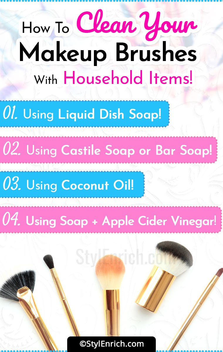 How To Clean Makeup Brushes?