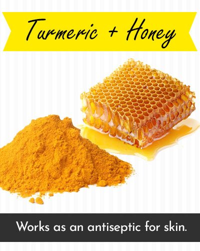 Honey & Turmeric Face Mask For Acne