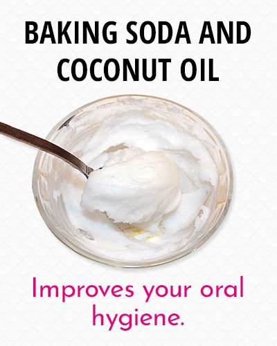 Baking Soda And Coconut Oil to Whiten Your Teeth