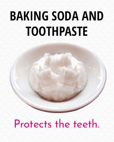 Baking Soda With Toothpaste to Whiten Your Teeth