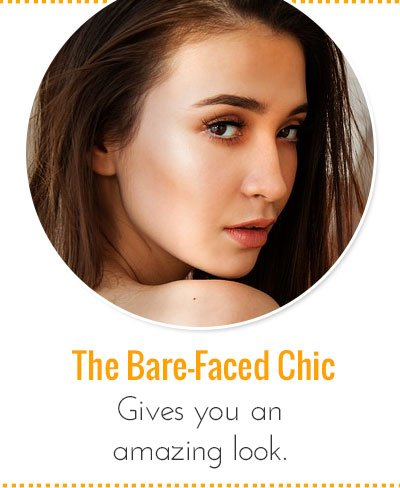 Bare-Faced Chic Look