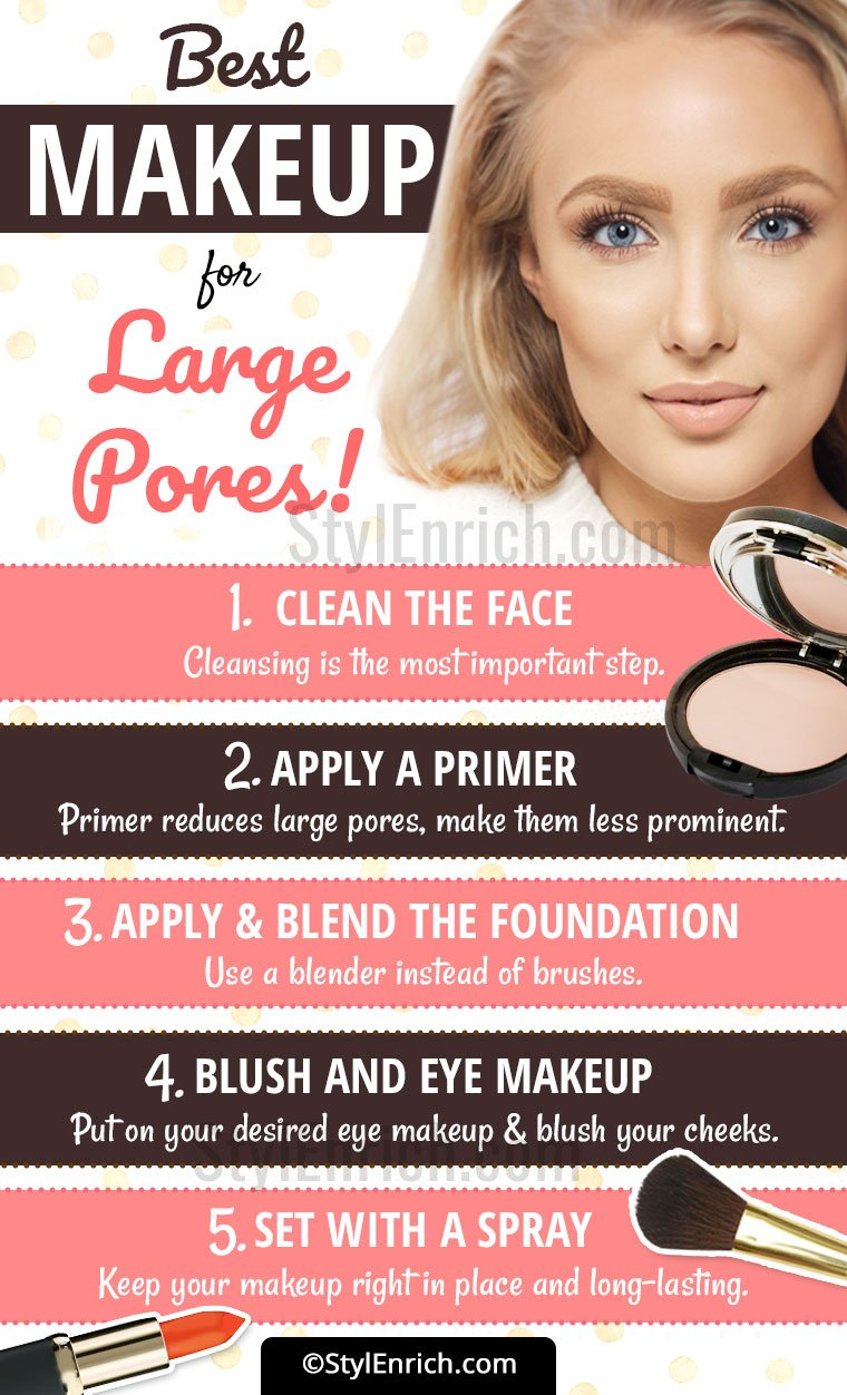 Best Makeup For Large Pores Ideas