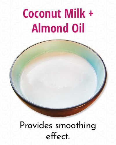 Coconut Milk And Almond Oil Conditioner