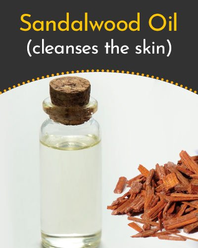 Sandalwood Essential Oil for Scars