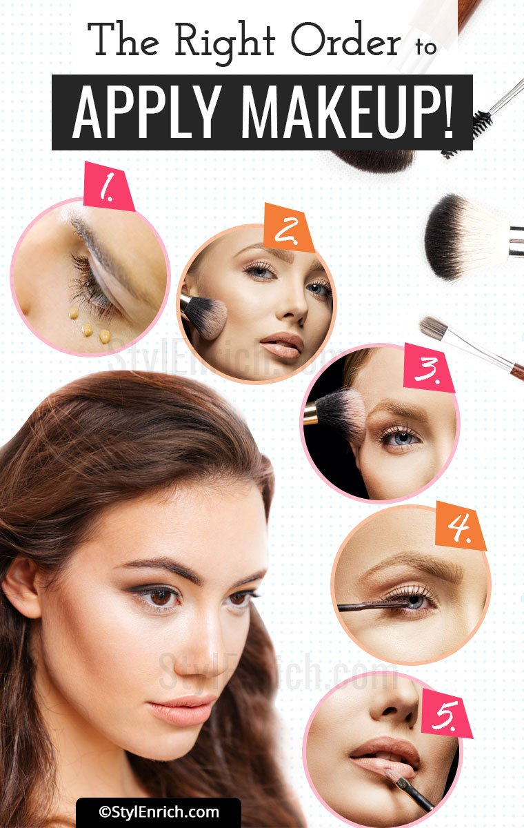 Makeup Order That You Must Know!