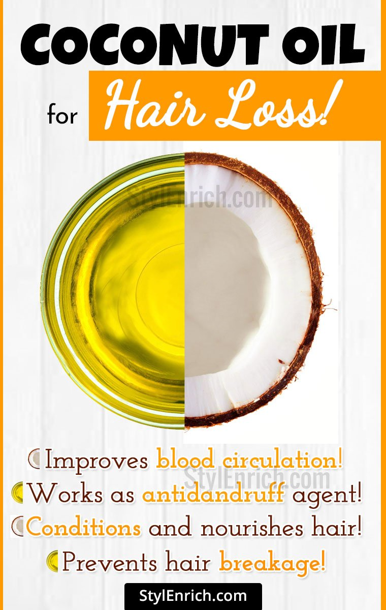 Uses Of Coconut Oil For Hair Loss