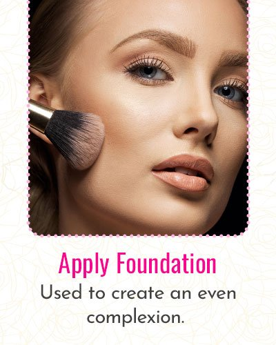 How To Apply Foundation?