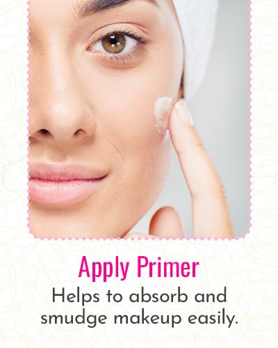 How To Apply Primer To The Face?