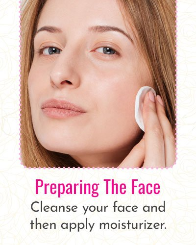 Preparing The Face For Makeup