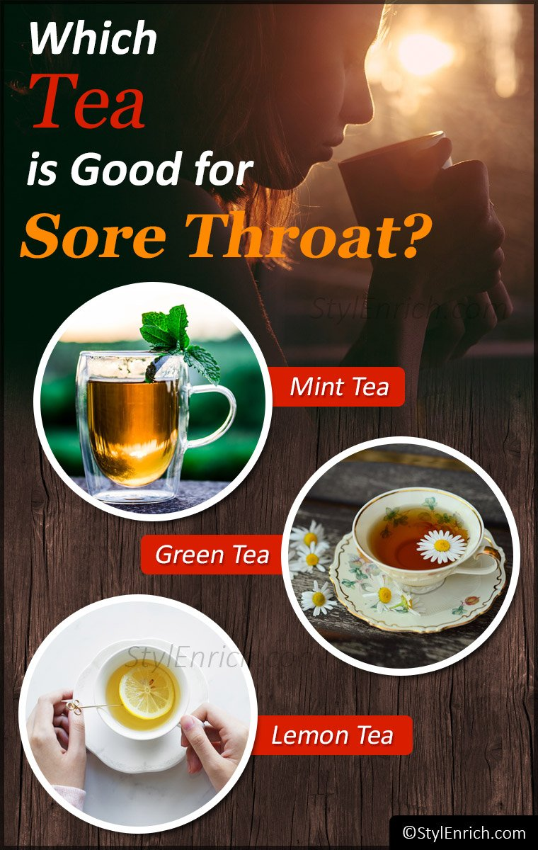 Which tea is best for sore throat?