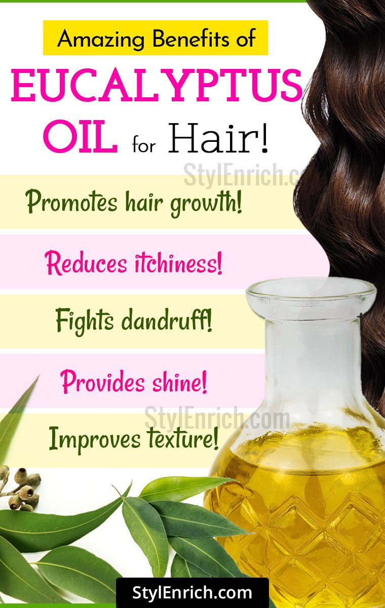 Amazing Benefits Of Eucalyptus Oil For Hair!