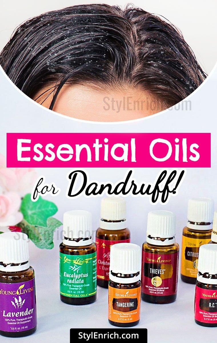 Best Essential Oils for Dandruff!