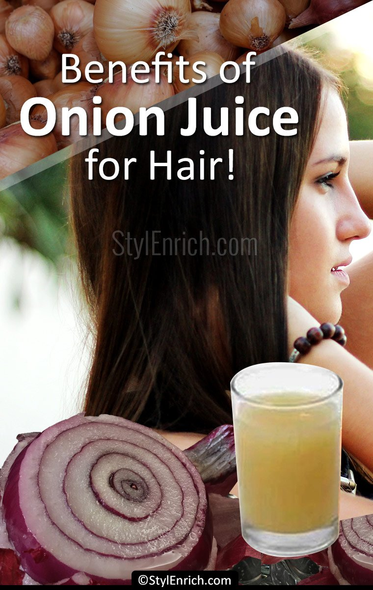 Benefits of Onion Juice for Hair