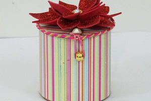 Handmade Paper Gift Boxes for Christmas