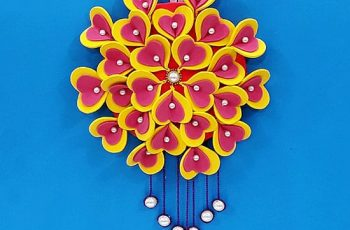 Heart Shaped Foam Wall Hanging