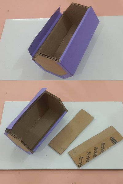 DIY Multipurpose Box Made from Waste Cardboard