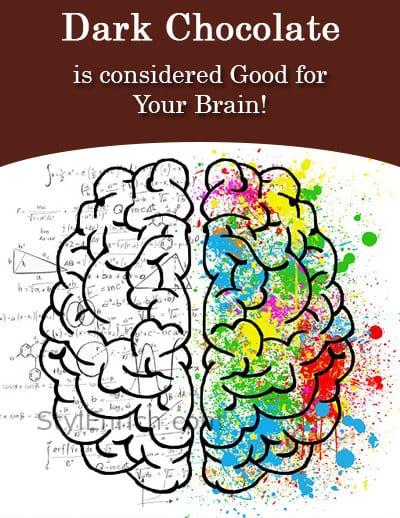 Dark Chocolate is Good for Brain