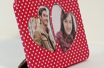 Valentines Day Handmade Photo Frame