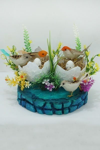 Birds Nest Decor Craft