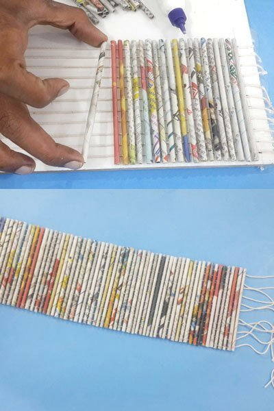 How To Make DIY Organizer Box with Newspapers?