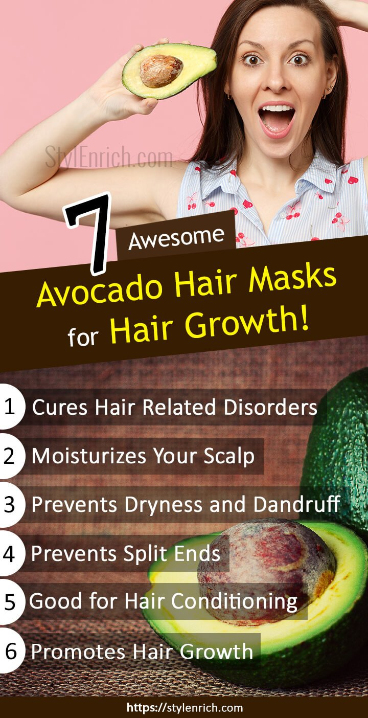 Avocado Hair Mask Recipes