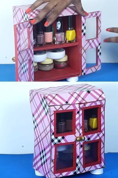 Your DIY Cupboard Storage box is now ready!