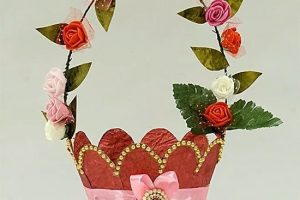 Paper Gift Basket Making