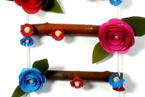 Wooden Wall Hanging Craft for Home Decoration