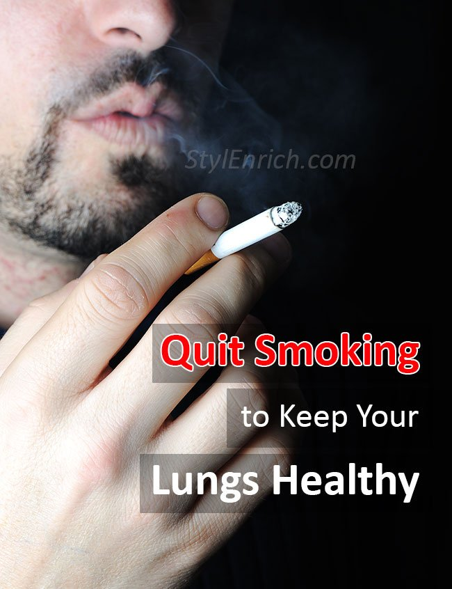 Quit Smoking to Keep Your Lungs Healthy
