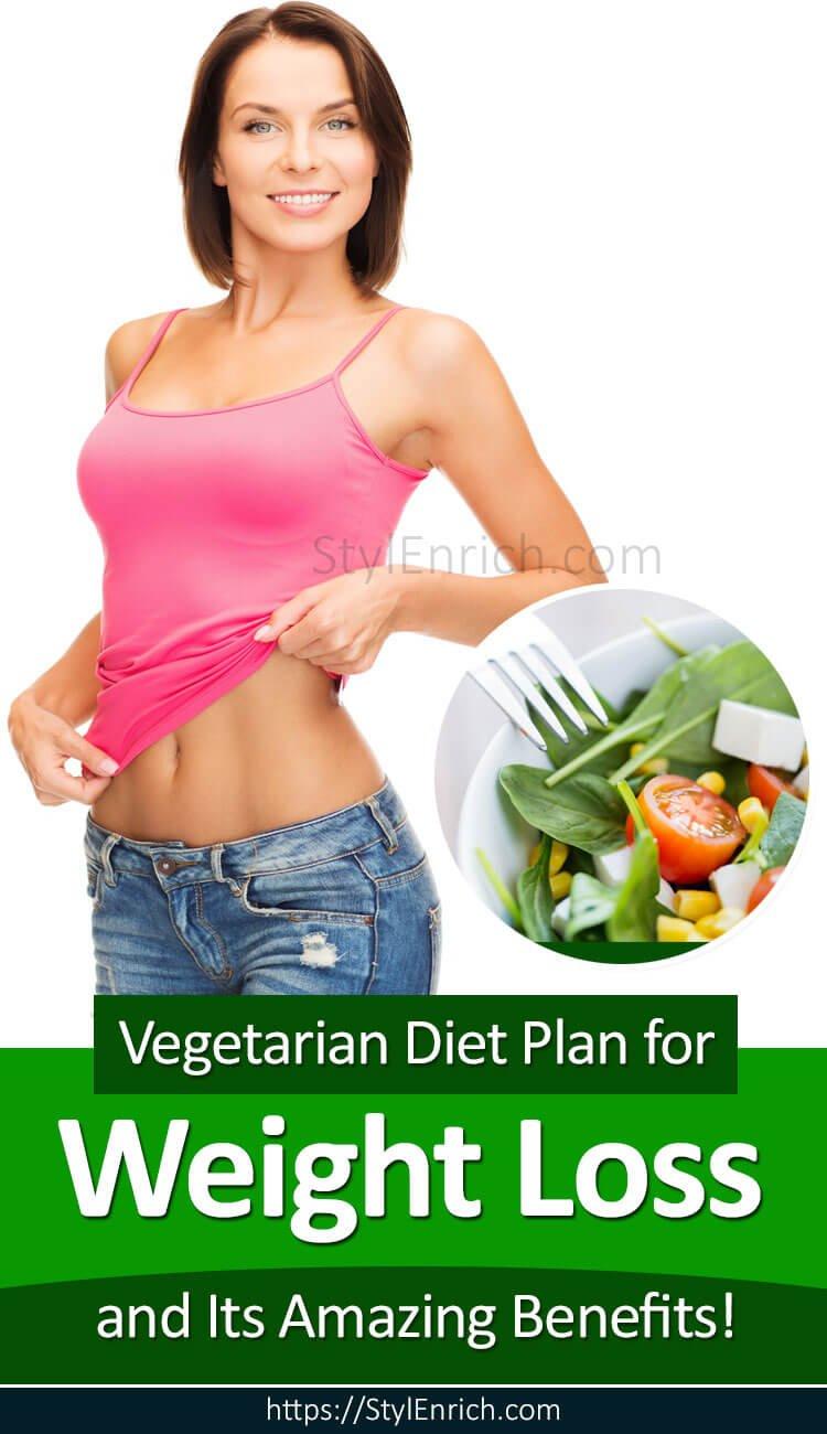 Vegetarian Diet Plan for Weight Loss
